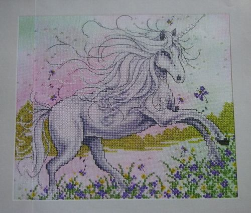 Magical Unicorn ~ Cross Stitch Chart