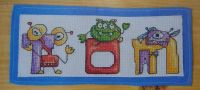 Monster Alphabet ~ 26 Cross Stitch Charts
