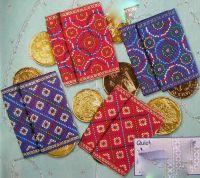 Mini Sachets, Bags & Christmas Stockings ~ TEN Cross Stitch Charts