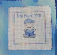 New Big Brother/Sister, New Baby Cards/Wall Hangings ~ Cross Stitch Charts