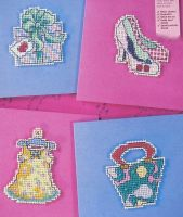 Six Girly Cards ~ Cross Stitch Charts