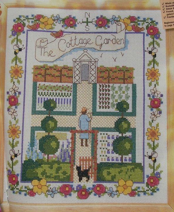 The Cottage Garden ~ Cross Stitch Chart