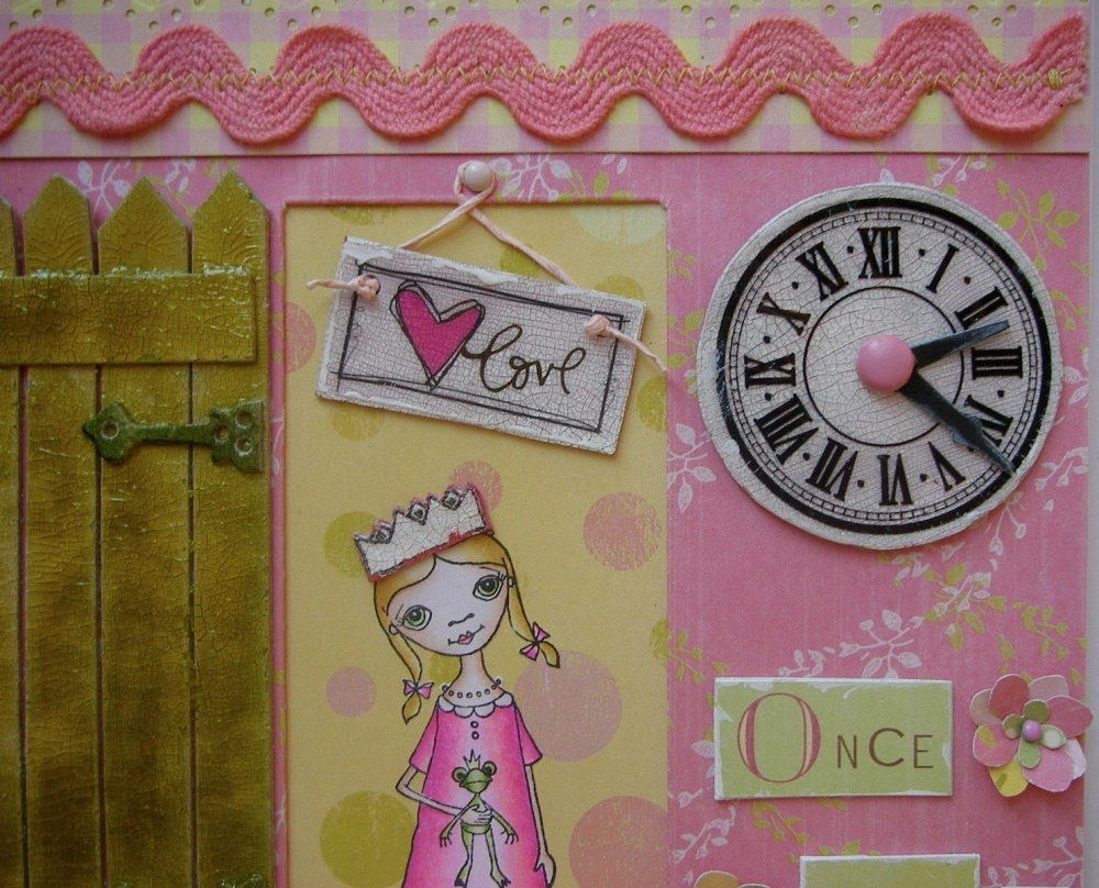 Little Princess clock
