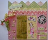 *little princess* OOAK Handmade Scrapbook Photo Memory Album