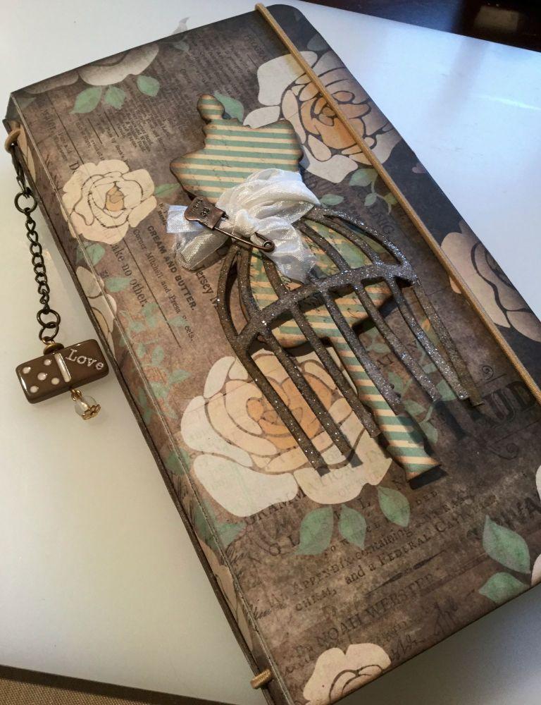 *nirvana* OOAK Handmade Fauzdori/Midori Style Scrapbook Photo Memory Album