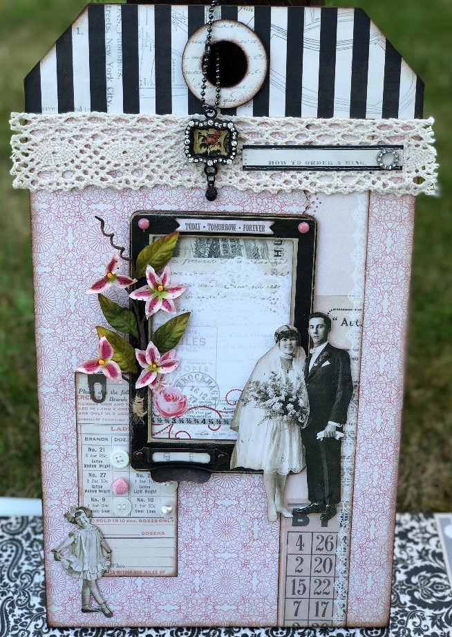 OOAK Handmade WEDDING Door Hangers