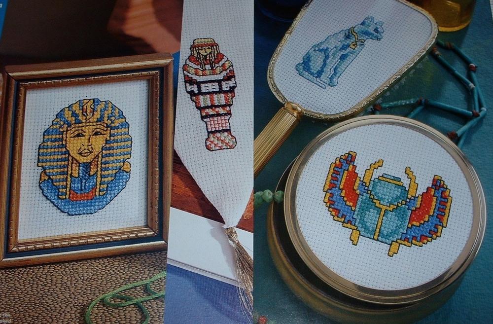 Egyptian Motifs ~ Seven Cross Stitch Charts