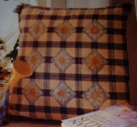 Daisy Motif Cushion ~ Nine Cross Stitch Charts
