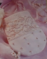 Bride/Bridesmaids Wedding Bag/Purse ~ Freestyle Embroidery Pattern