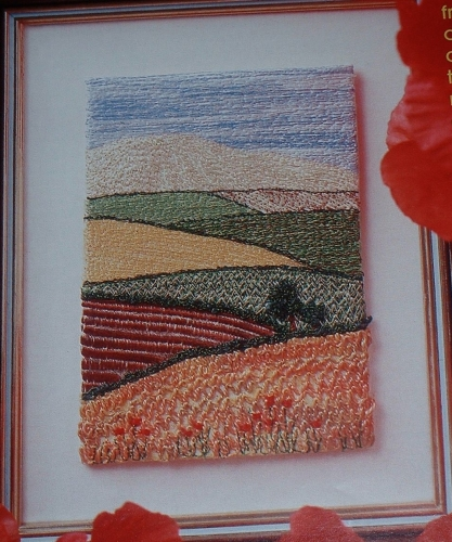 In The Countryside ~ Machine Embroidery Pattern