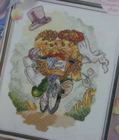 Country Companions: Just Married ~ Cross Stitch Chart