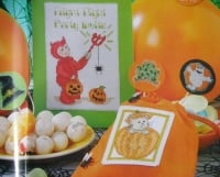 Halloween Party ~ Five Cross Stitch Charts