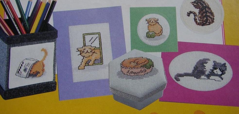 30 Cats ~ Cross Stitch Charts