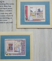 Kitchen Window Scenes ~ Two Cross Stitch Charts