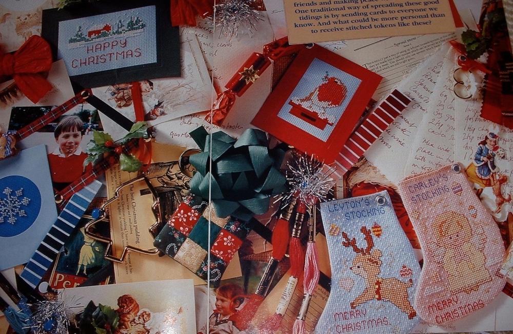 Christmas Cards & Mini Stockings ~ Six Cross Stitch Charts