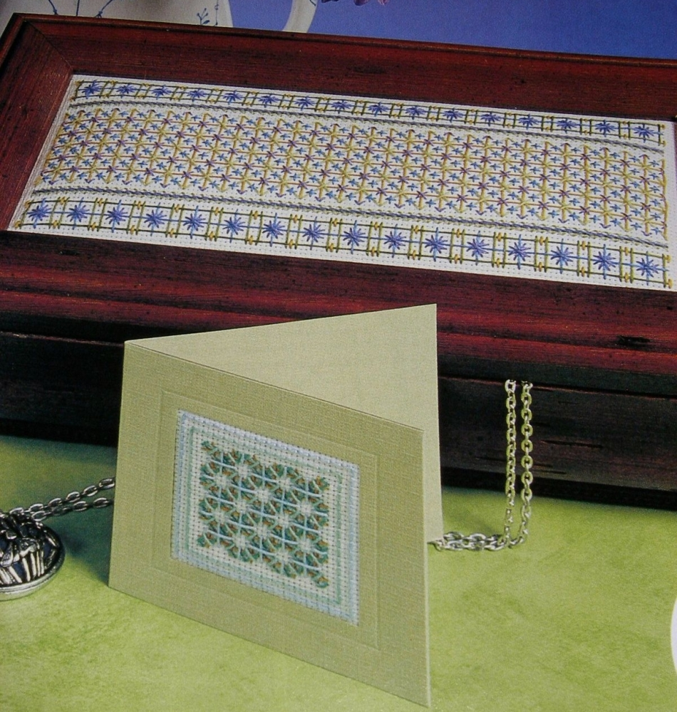 Laidwork Masterclass Box Lid and Cards ~ Embroidery Patterns