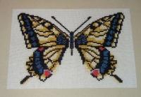 Swallowtail Butterfly ~ Cross Stitch Chart
