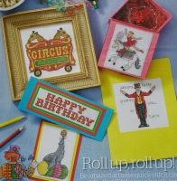 Circus Funfair Designs ~ 40 Cross Stitch Charts