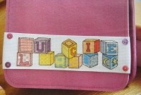 Toy Blocks ABC Alphabet ~ 26 Cross Stitch Charts