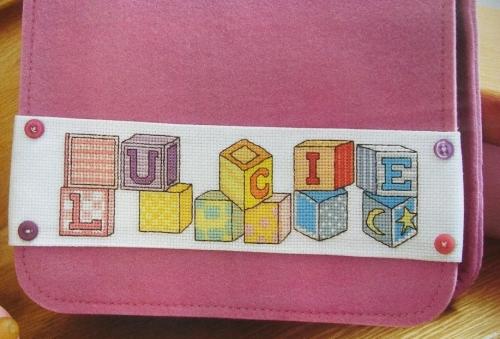 Toy Blocks ABC Alphabet ~ 26 Cross Stitch Charts