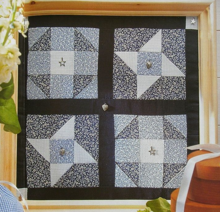 Traditional Country Patchwork Picture ~ Patchwork Pattern