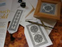 Matching Gift Set ~ Three Blackwork Patterns