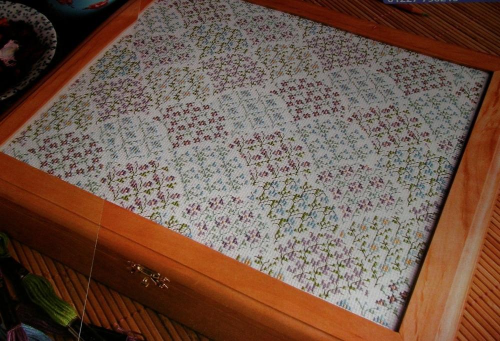 Clamshell Flowers ~ Cross Stitch Chart