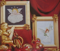 Angel & Cherub ~ Two Cross Stitch Charts