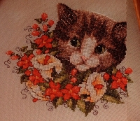 Zweigart Cat: Lily ~ Cross Stitch Chart