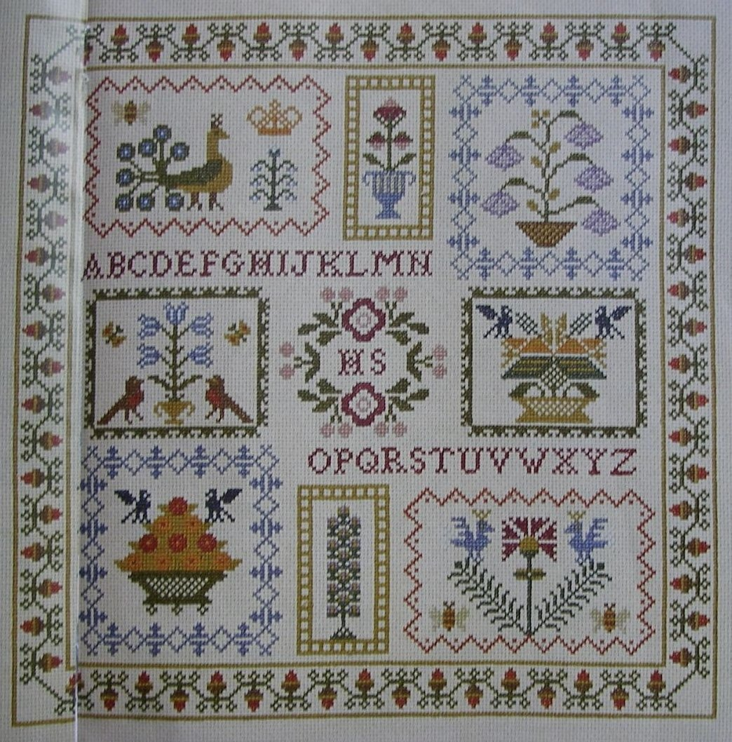 Autumn Harvest Sampler ~ Cross Stitch Chart