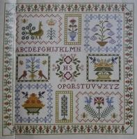 Autumn Harvest Sampler ~ Cross Stitch Chart