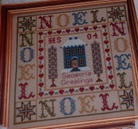 Noel Christmas Sampler ~ Cross Stitch Chart