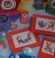 Christmas Cards & Gift Tags ~ Over 30 Cross Stitch Charts
