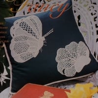 Butterfly and Flower Motif ~ Two Needlelace Patterns