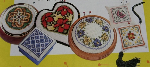 30 Floral, Celtic, Jacobean and Blue & White Designs ~ Cross Stitch Charts