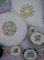Silk & Ribbon Embroidery Cushions & Alphabet ~ Embroidery Patterns