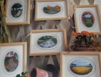 English Countryside Landscapes ~ Six Cross Stitch Charts
