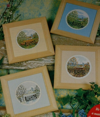 Changing Landscapes ~ Four Cross Stitch Charts