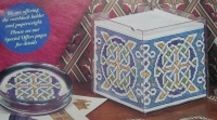 Celtic Paperweight & Noteblock Holder ~ Cross Stitch Charts