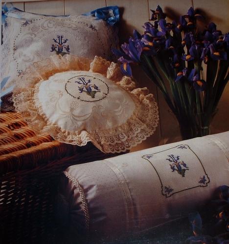 Iris Motifs ~ Cross Stitch Charts