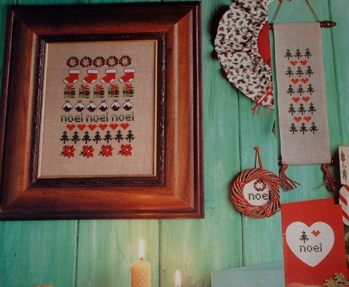 Christmas Motif Sampler ~ Cross Stitch Chart