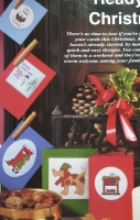 Five Christmas Cards ~ Cross Stitch Charts