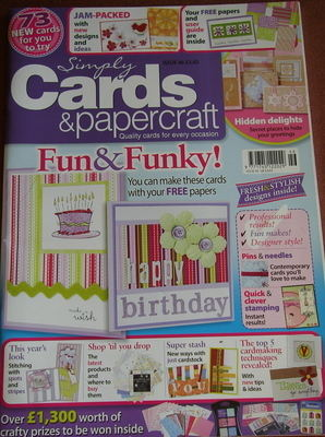 Simply Cards & Papercraft ~ Issue 46 ~ Papercrafting Magazine