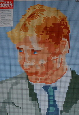 Prince William ~ Cross Stitch Chart