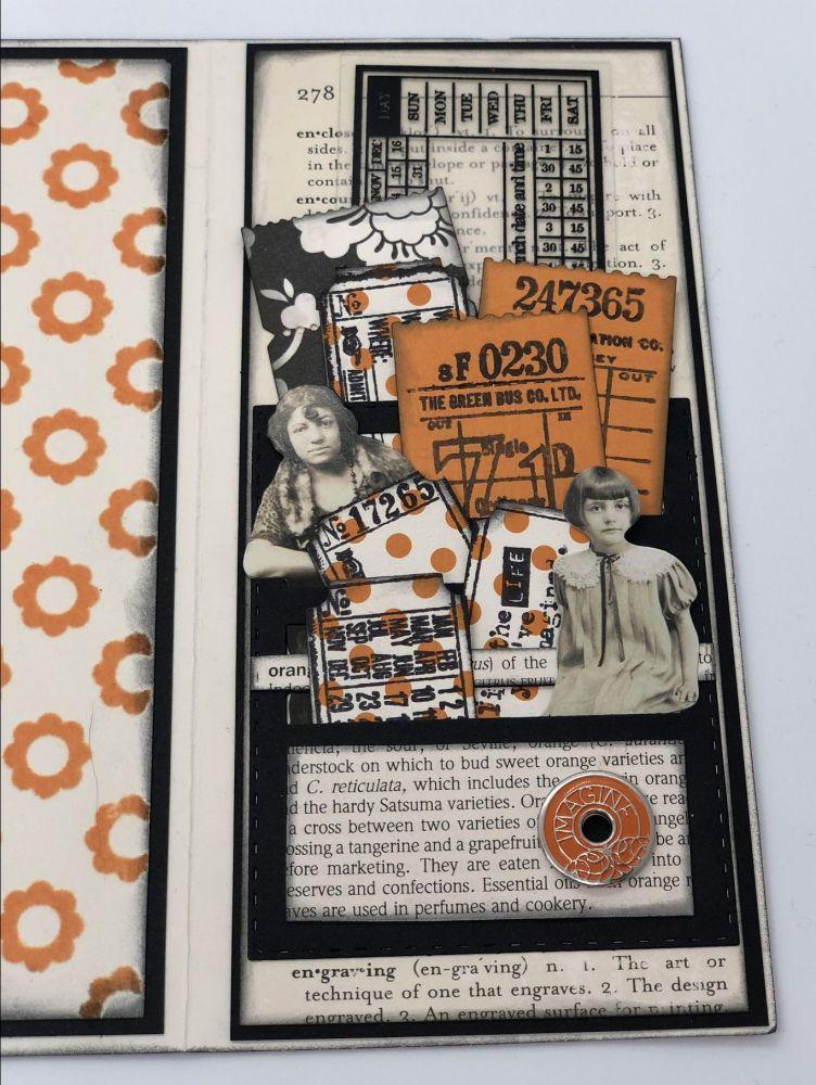 black & orange TN 16