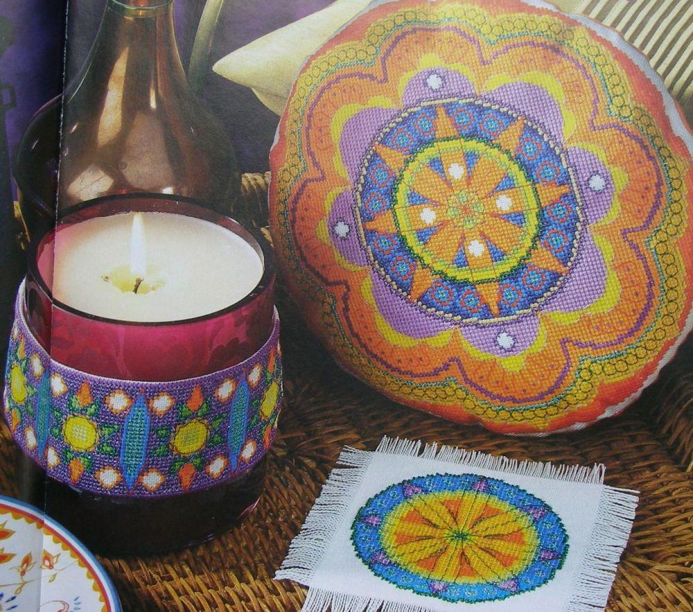 Moroccan Inspiration ~ Three Cross Stitch Charts