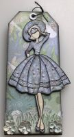*wisteria audrey * OOAK Handmade Julie Nutting Tag **RESERVED**