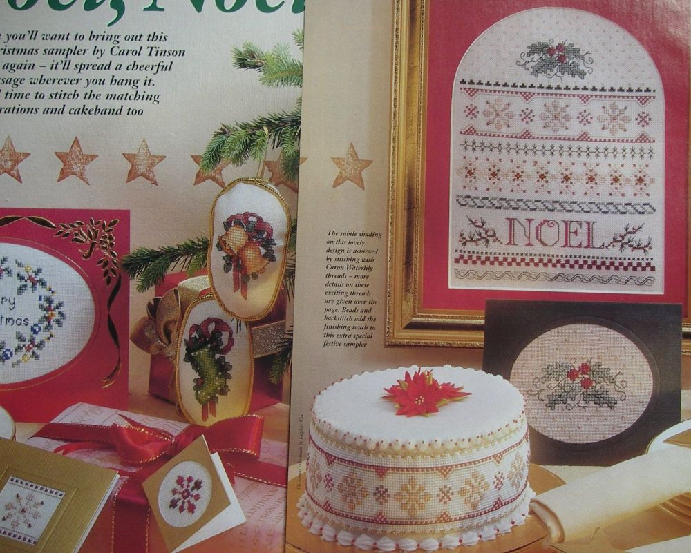 Christmas Sampler, Cards & Decorations ~ Cross Stitch Charts