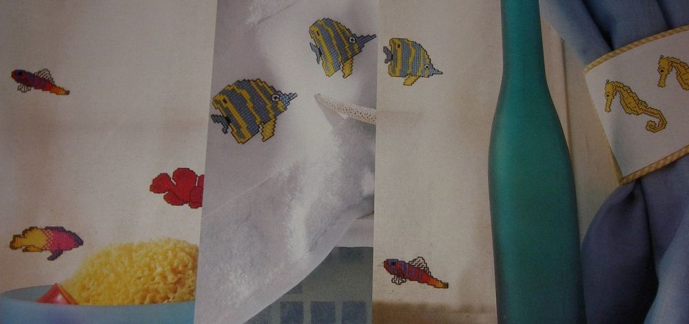 Tropical Fish ~ Six Cross Stitch Charts