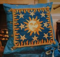 Sun and Stars ~ Needlepoint Pattern